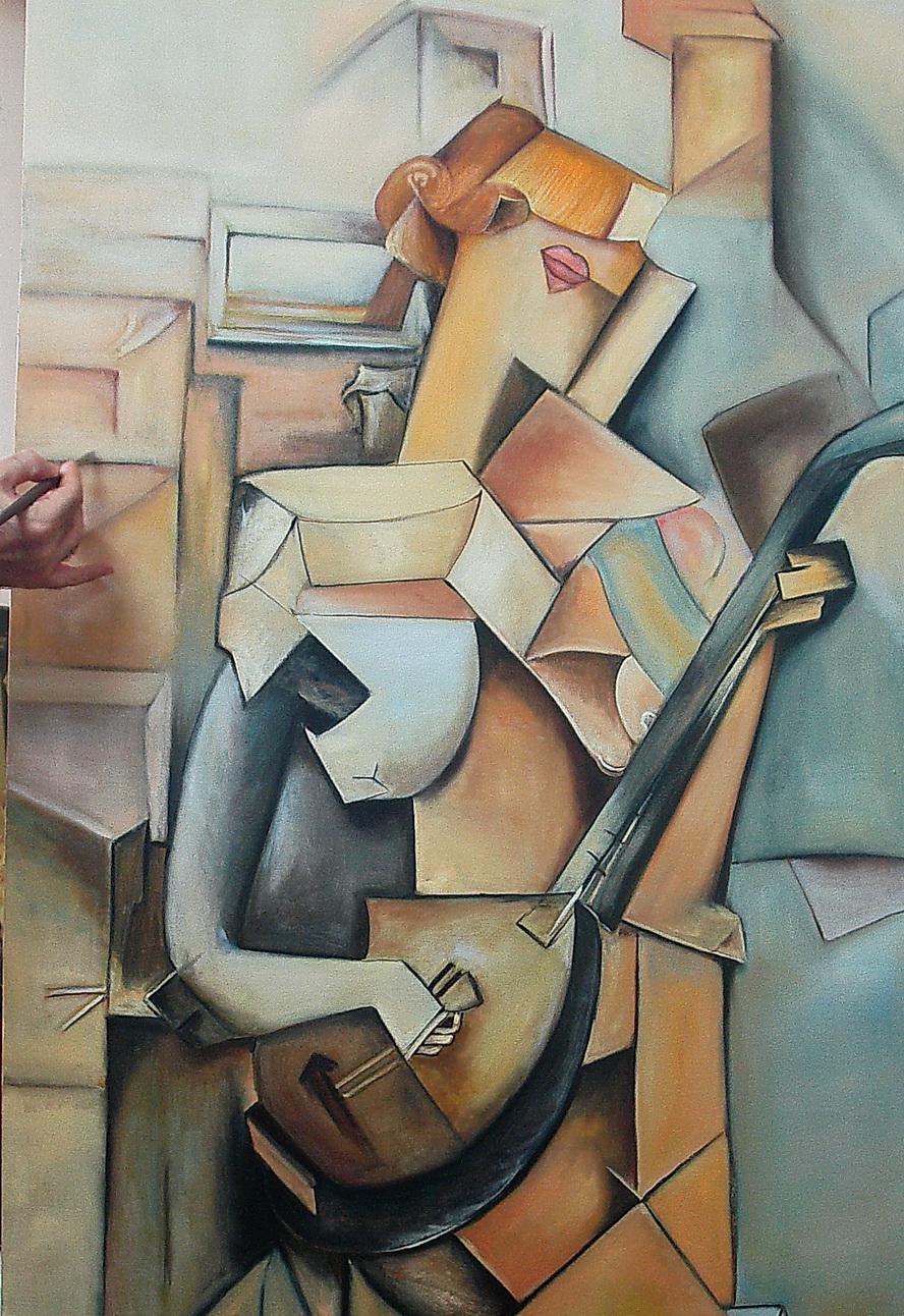 نقاشی مدرن از حسین اکبری